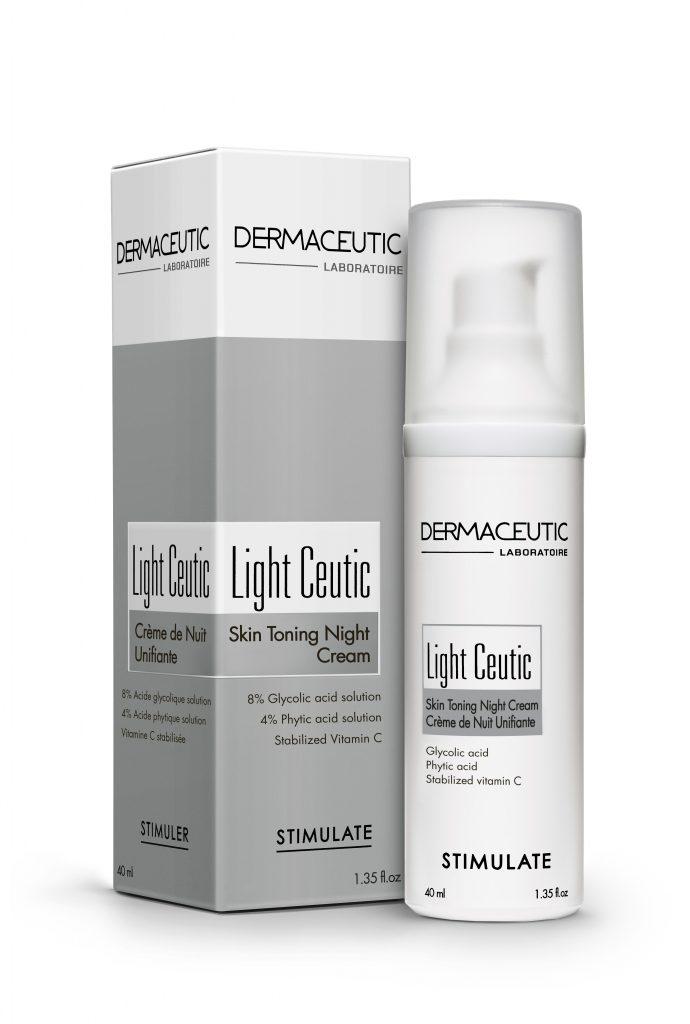 Light Ceutic | Krem stymulujący na noc
