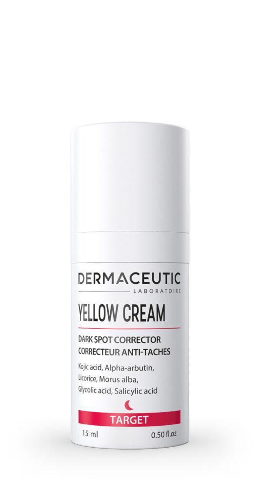 Yellow Cream | PUNKTOWY KOREKTOR NA PRZEBARWIENIA