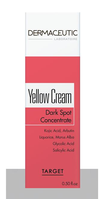 Yellow Cream | Profesjonalny krem rozjaśniający przebarwienia