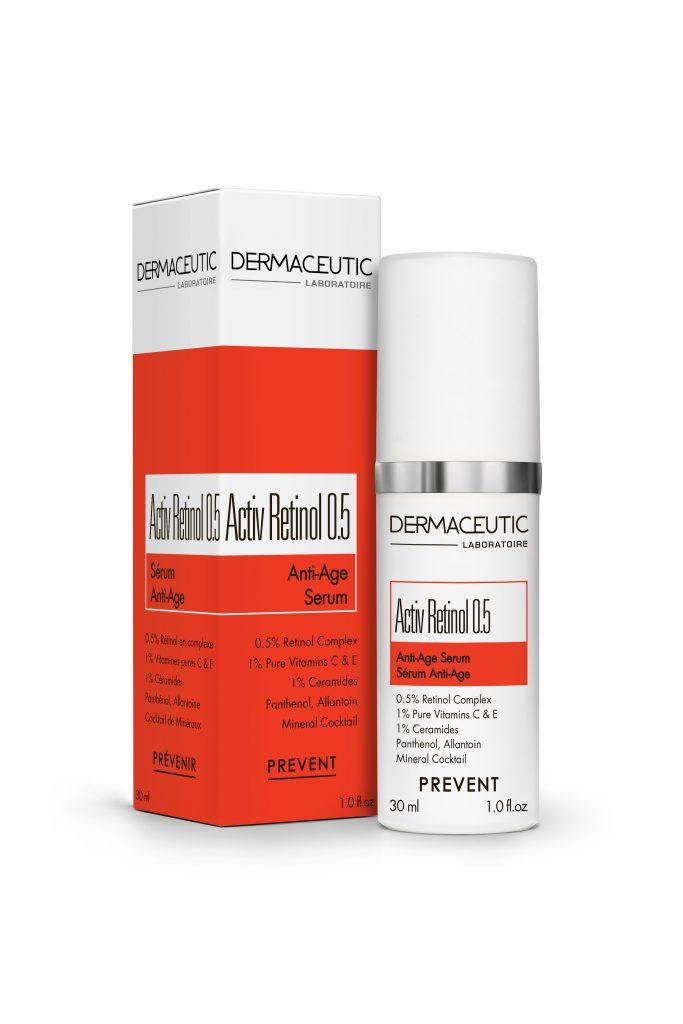 Activ Retinol 0.5   Aktywne serum przeciwstarzeniowe