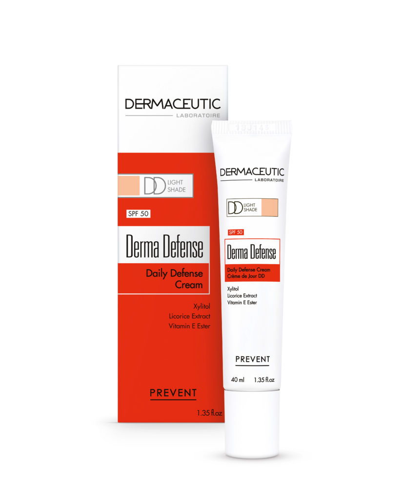 Derma Defense Light | Krem DD na dzień z SPF50 i pigmentem light