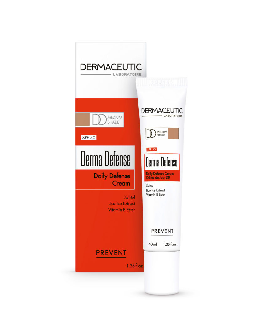 Derma Defense Medium | Krem DD na dzień z SPF 50 i pigmentem medium