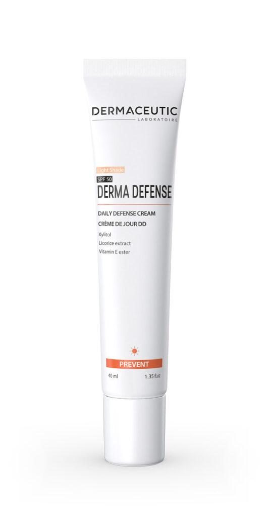 Derma Defense Light   KREM OCHRONNY I NAWILŻAJĄCY (odcień jasny)