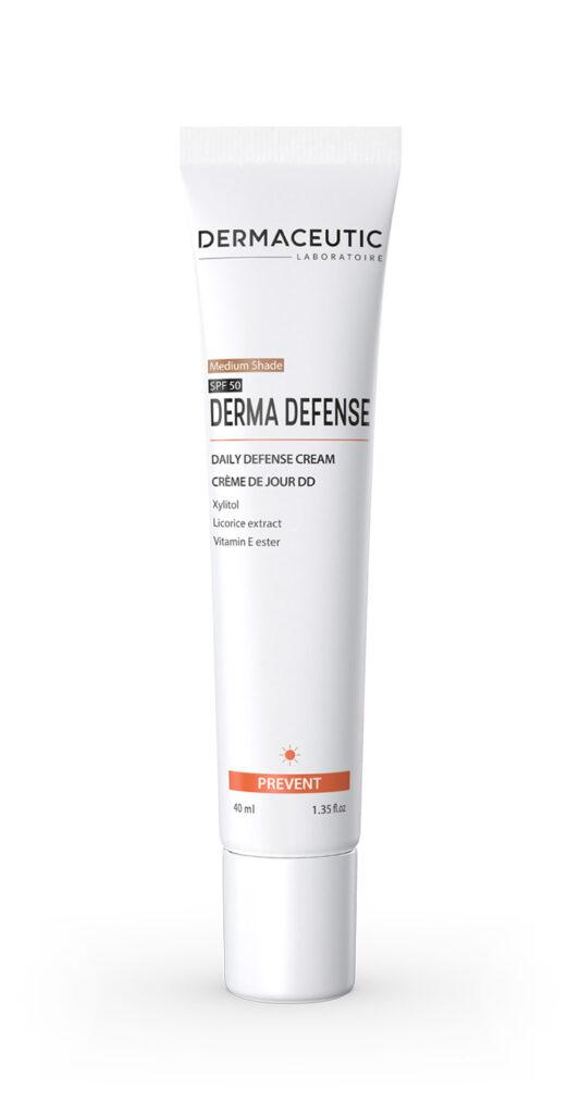 Derma Defense Medium | KREM OCHRONNY I NAWILŻAJĄCY (odcień medium)