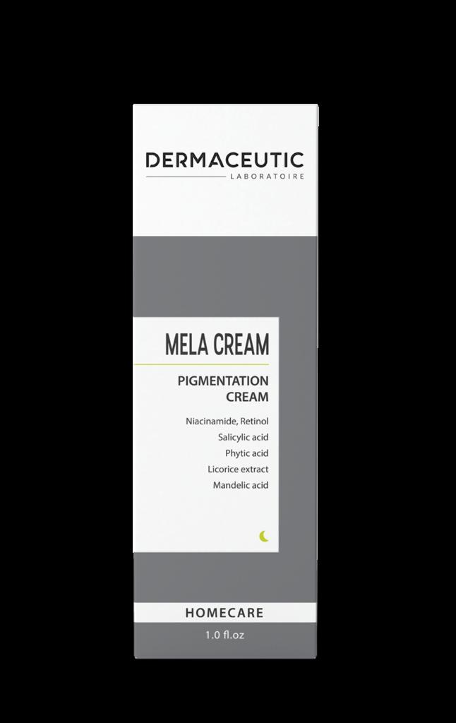 Mela Cream   Profesjonalna formuła w rozjaśnianiu przebarwień