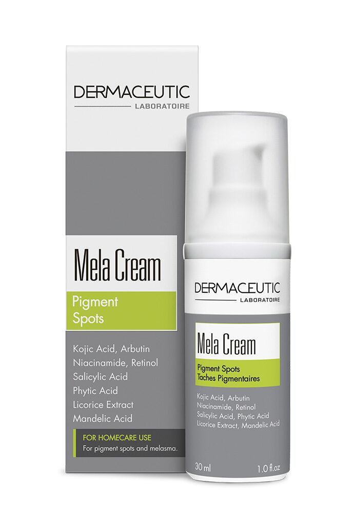 Mela Cream | Profesjonalna formuła w rozjaśnianiu przebarwień
